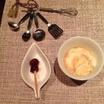 マティーニハウス - デザート&シェリー酒の可愛い鍵