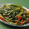 バーン・キラオ - 料理写真:空心菜炒め、辛さの調節はできますよ