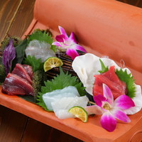 沖縄鮮魚の刺身盛り合わせ