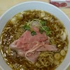 煮干ラーメンとローストビーフ パリ橋 - 料理写真:煮干ラーメン(白)麺大盛