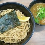 38 NOODLE KITCHEN - 料理写真:つけ麺(醤油)あつもり+大盛