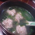 ねぼけ - 自家製つくね入りスープ