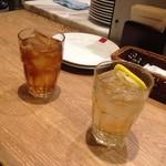 SALVATORE CUOMO&BAR - ウーロン茶&ジンジャエール♡