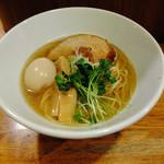 虎愼 - 料理写真:味玉煮干しそば