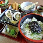 伊勢角屋麦酒 - 料理写真:牡蠣御膳
