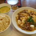 麗江 - 牛肉と豆腐の煮込み