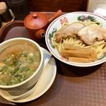 博多とんこつ 天神旗 - 魚極老つけ麺 300g