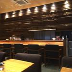 KAPPABASHI COFFEE & BAR - 店内(ピンぼけでスミマセン)