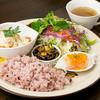 cafe mignon - 料理写真:当店看板メニュー mignonプレートランチのチキン南蛮