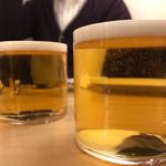 オステリア オージオ ソット - ビール