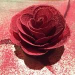 64477554 - 薔薇ビーツとフォアグラ。