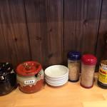 麺屋 ばんび - 麺屋ばんび 調味料など