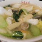 翠葉  - 海鮮野菜タンメン
