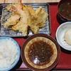 天ぷら 天助 - 料理写真:上天ぷら定食1280円は海老1尾と玉子がプラス