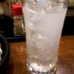 鉄なべ - レモンチューハイ