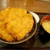 とんかつ政ちゃん - 料理写真:並かつ丼