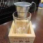 酒房 武蔵 - 純米吟醸 九州菊(福岡) 450円