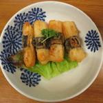酒房 武蔵 - 山芋いそべ揚げ 400円