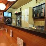 酒房 武蔵 - 一階カウンター席