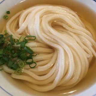 手打うどん 長谷沼 - 料理写真:冷かけ(中)600円