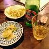 竹海 - 料理写真:生ザーサイとチンタオ