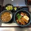 そば処 満留賀 - 料理写真:きしめん+ミニカレー丼セット950円