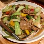 尚風亭 - 琉美豚の青菜炒め