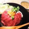 やながわ精肉店 - 料理写真:特製ローストビーフ丼・並