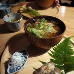 文治郎 - 鴨蕎麦とこんにゃくいなり
