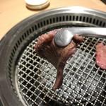 日本焼肉 はせ川 - 薄切りっていっても結構厚め