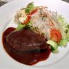 ミルフィーユ - 料理写真:ハンバーグ