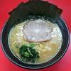 一二三家 - 料理写真:ラーメン650円麺硬め。海苔増し50円。