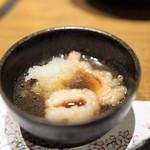 肉匠堀越 - シマチョウ煮おろし