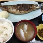 民宿 青塚食堂 - 特大にしん焼き定食税込1380円