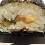 回転寿司 江戸ッ子 - 600円の恵方巻きの断面