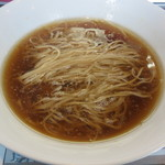 Menyaseiunshi - 料理写真:カキ正油かけらぁ麺