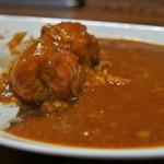 パルフェ - チキンとトマトのカレーライス(500円)