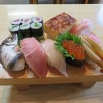 茂八寿司 - 上寿司 2400円