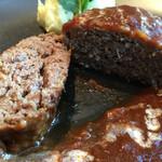 バルバッコア クラシコ - ハンバーグステーキ