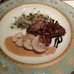 創作料理 宿 - 大山鶏 バロッティーヌ ガチョウのフォアグラ