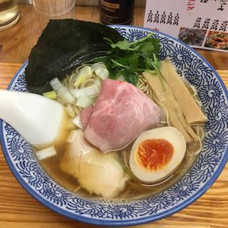 中華そば よしかわ - 料理写真:煮干しそば白醤油