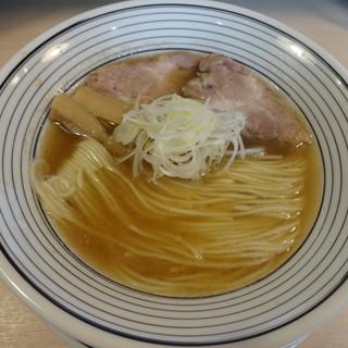 猫トラ亭 - 料理写真:煮干しラーメン(650円)