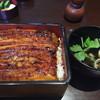 うなぎ千草 - 料理写真:うな重の上