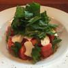 富竹農園 - ドリンク写真:大葉とトマトのモッツアレラサラダ【夏限定】