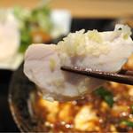 中国菜シンペイ - サラダの蒸し鶏