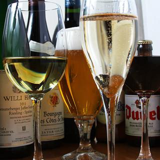 燻製料理に合う拘りのワインや世界のビール