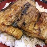 浜松 - うなぎ丼「特」大盛り アップ