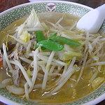 川平飯店 - 塩ラーメン・600円