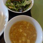 麗華 - 2017/3 サラダ&スープ