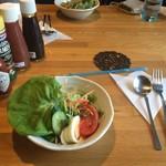木の実 - セットのサラダ